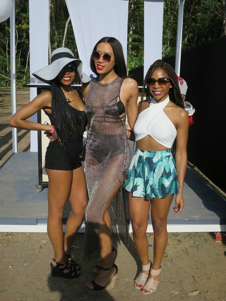 Right to left: Me, June and my gorgeous friend Chanel