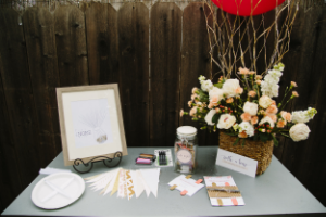 Travel Bridal Shower Theme_Love is in the Air_Party Box Contents