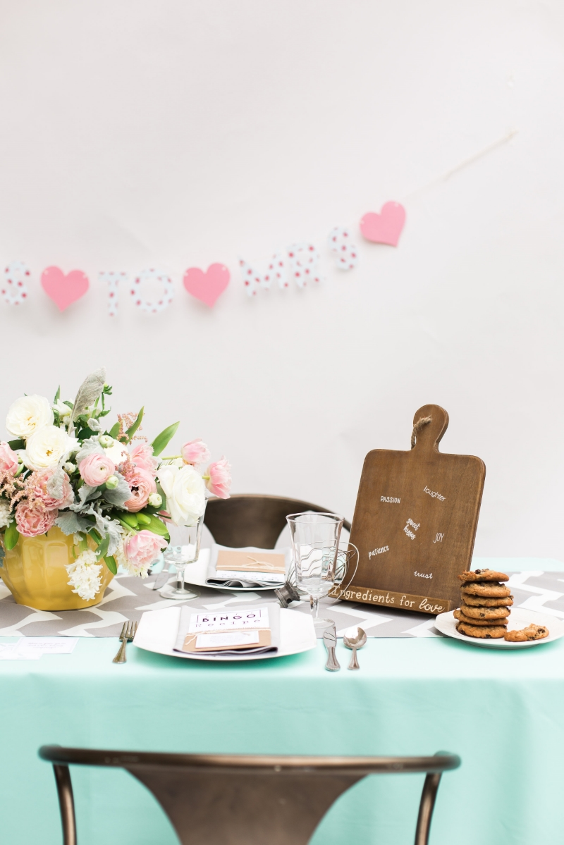 Kitchen Themed Bridal Shower Decor
