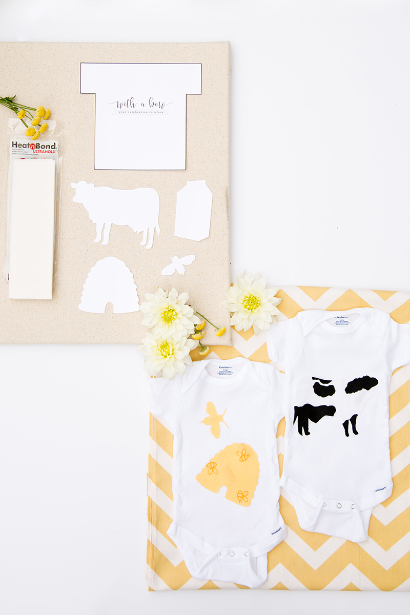 Milk + Honey Onesie Decorating Kit