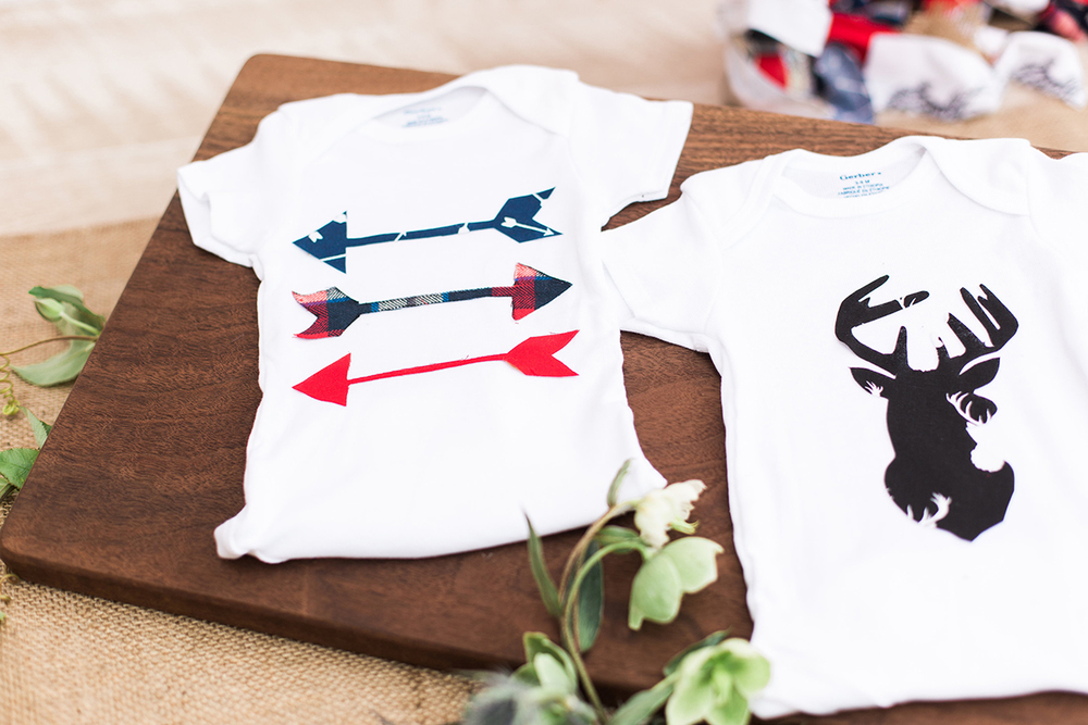 Young Buck Onesie Decorating Kit