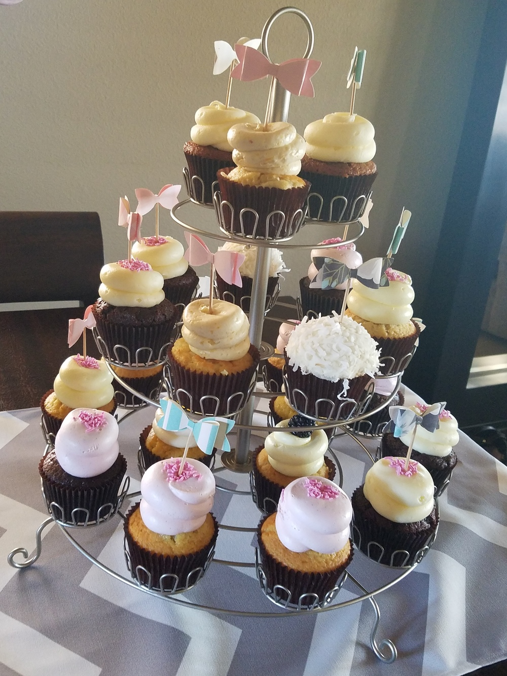 Cupcakes from Urban Cookie!