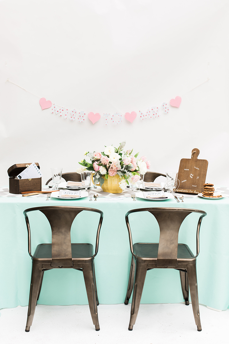 A Recipe for Love Kitchen Themed Bridal Shower