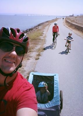 My son learned to ride his bike without training wheels this summer and we simply couldn't get enough! This is such a fun adventure for the whole family.  With the lovely views and weather, you can't go wrong riding or walking the Bay Trail. With little ones, we often stop at one of the many parks along the way to let the kids run and play.