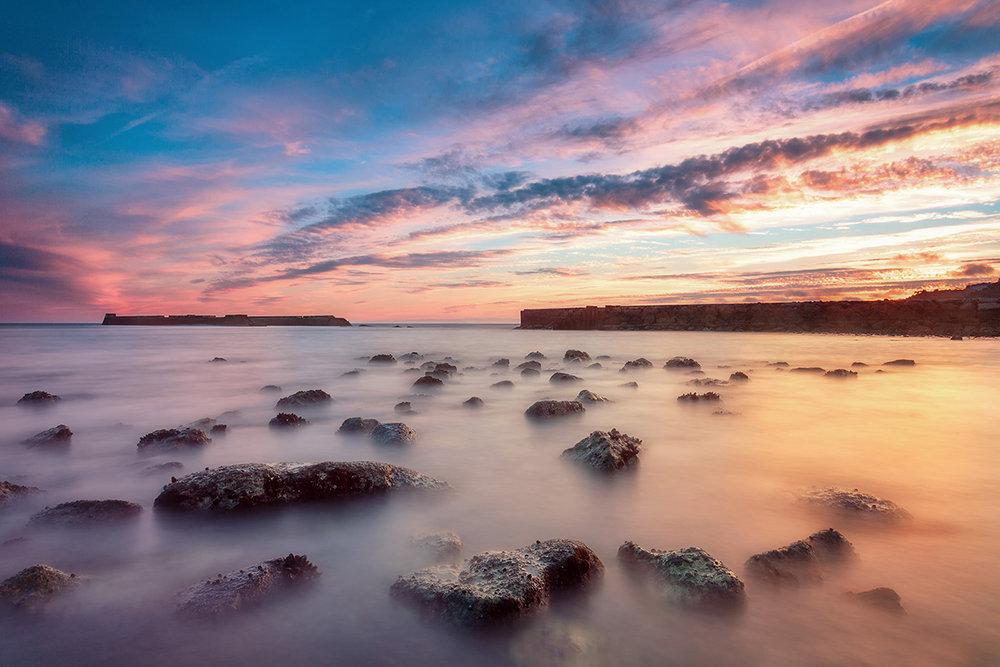 Cruz Quebrada Sunset