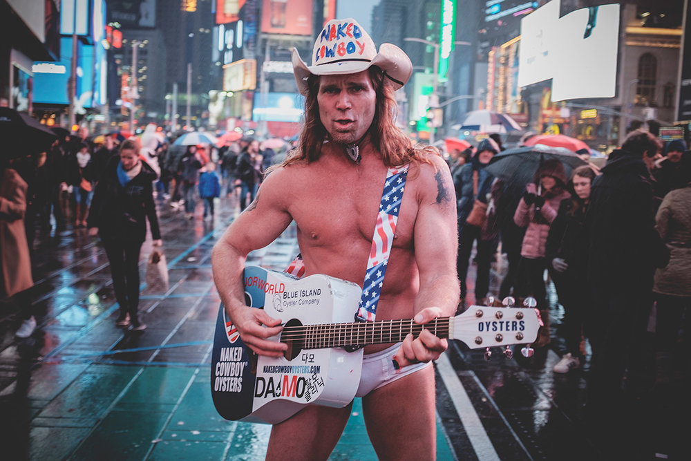 The Legend, The Naked Cowboy!