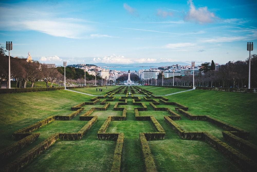 View from Parque Eduardo VII