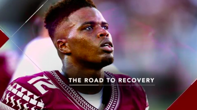 VIDEO  // FSU's Deondre Francois: Injury helped 'turn me into a man'. Maria Taylor speaks with Florida State QB Deondre Francois about his journey back from injury and his character development in the past year.and his character development in the past year.