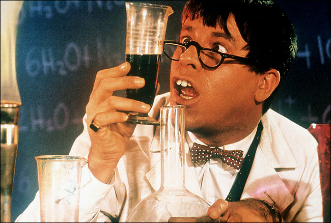 Jerry Lewis in the original The Nutty Professor circa 1963