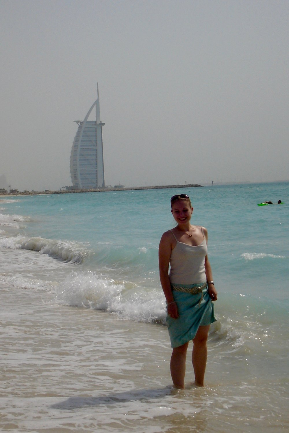 Jumeirah Beach and the Burj al Arab