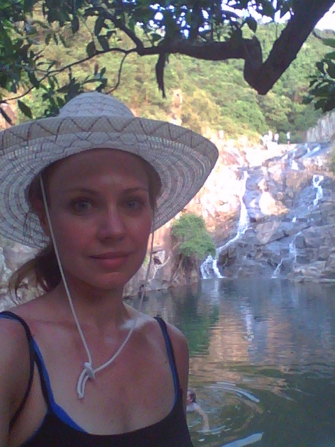 Swimming in secret waterfalls on Lantau Island, Hong Kong