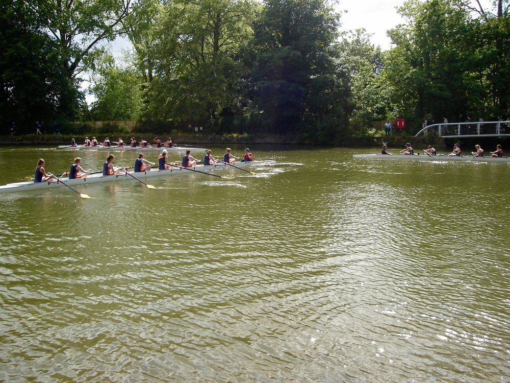 Rowing Eights at Oxford