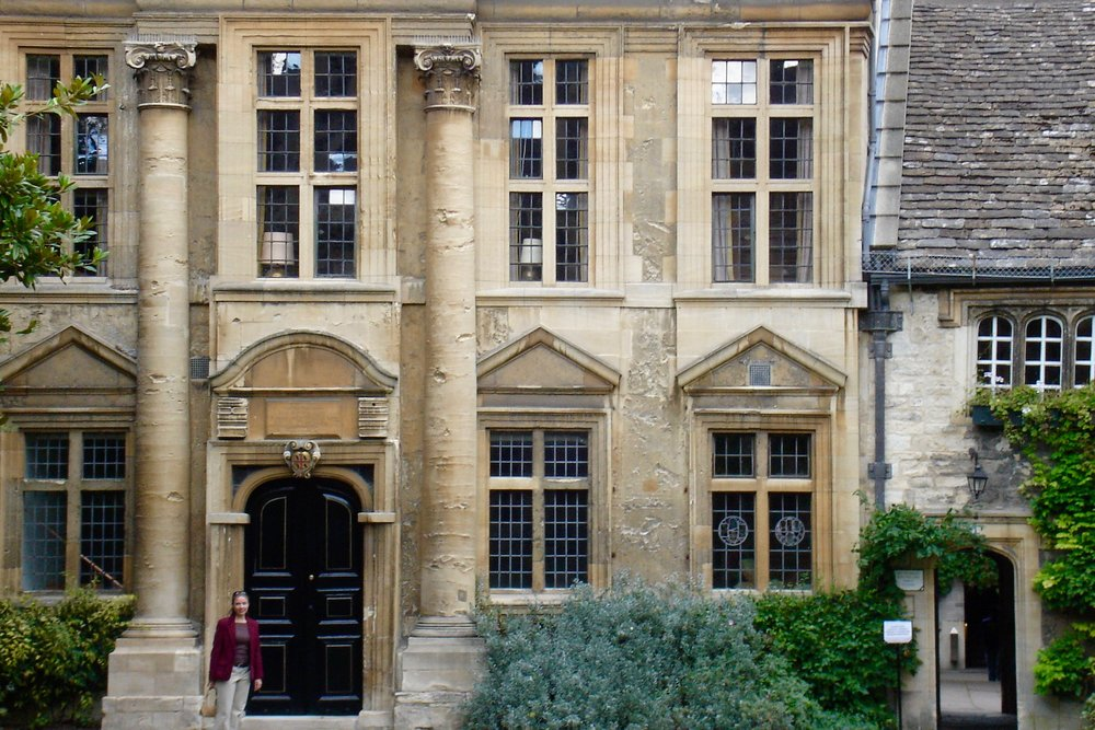 Teddy Hall, my college at Oxford University