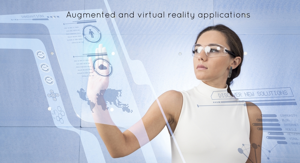 Augmented and virtual reality applications for depth sensing