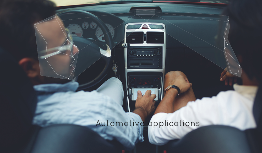 Automotive applications for depth sensing