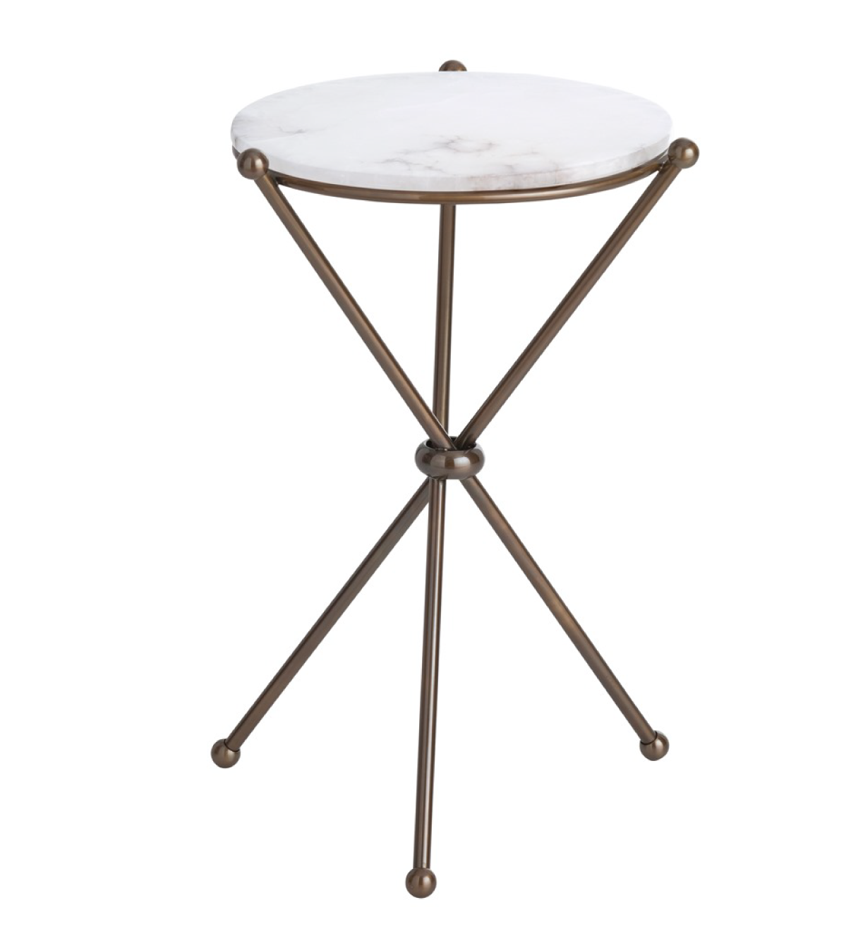 Damien Accent Table U2014 White