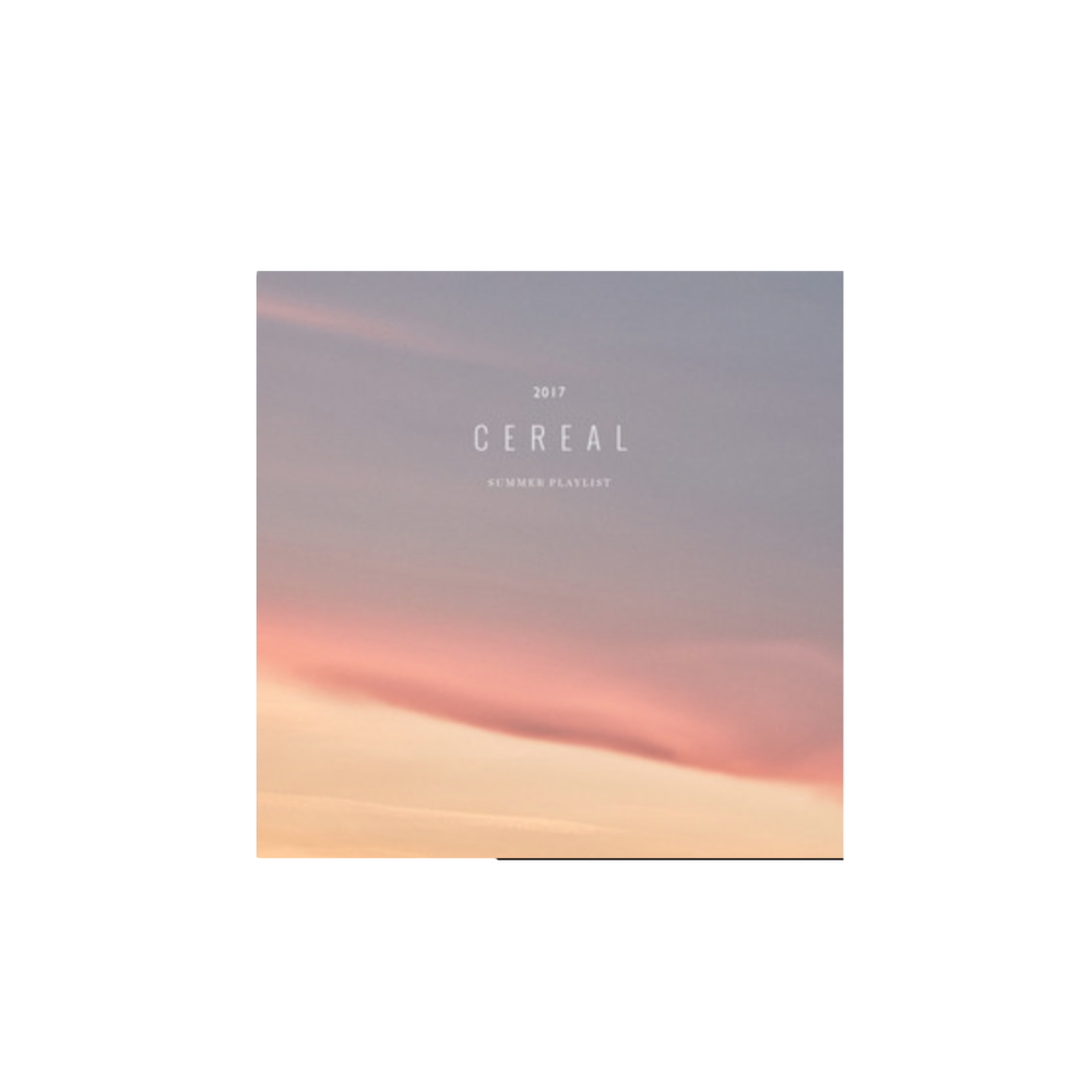 Summer Playlist by Cereal