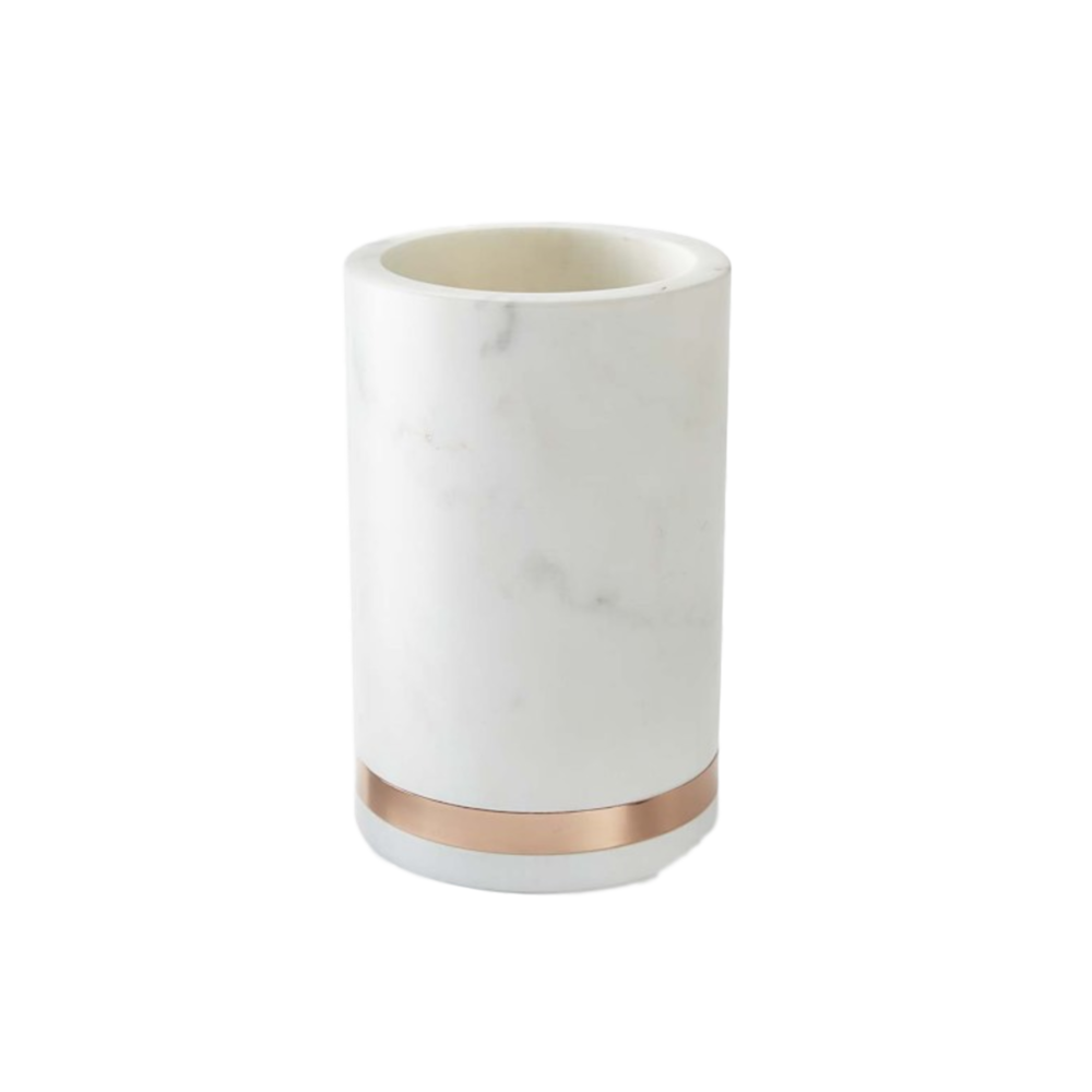 Marble and Copper Wine Cooler