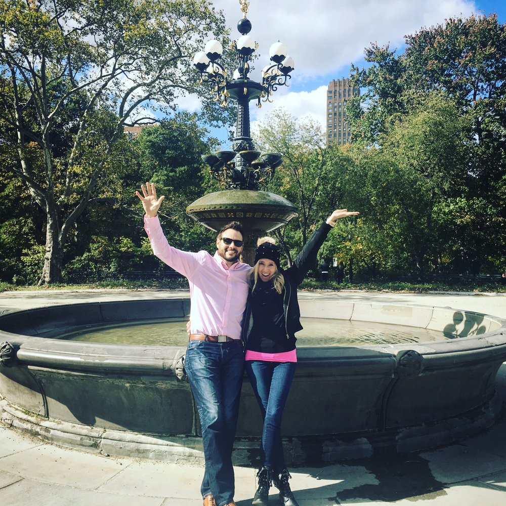 """Totally NOT the """"Friends"""" fountain in Central Park"""