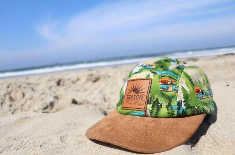 Season Pass Sales Hat on the Beach