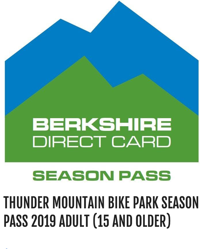 Thunder Mountain Bike Park Season Pass 2019 Adult (15 and older) - Bike Park season pass for the 2019 season. Adult passes are for ages 15 and older. $379