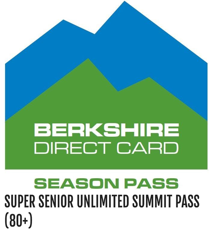 Super Senior Unlimited Summit Pass (80+) - Super Senior ski season pass, no blackout dates or exclusions. Valid for ages 80 and older. $0.00