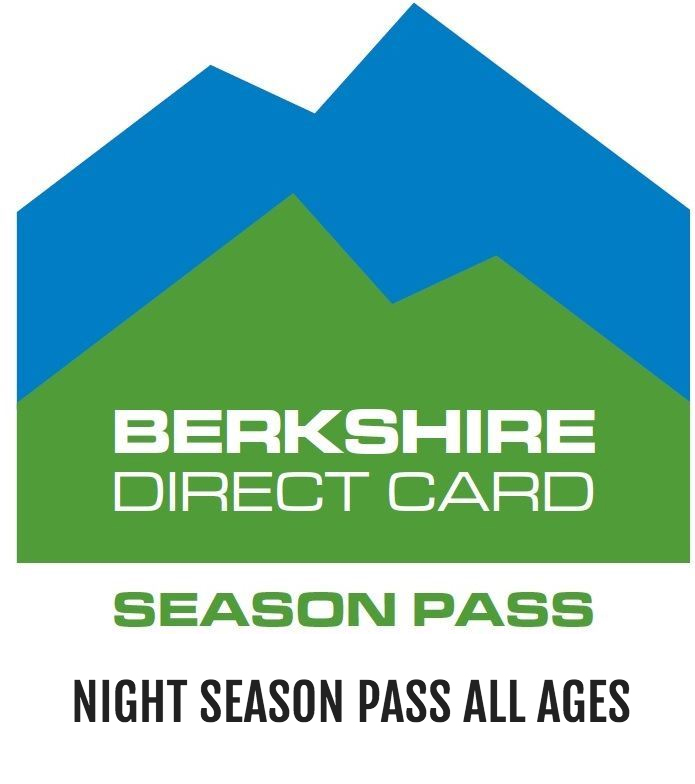 Night Season Pass All Ages - Ski season pass valid Thursday, Friday and Saturday nights after 4pm only. Valid for any age. $149