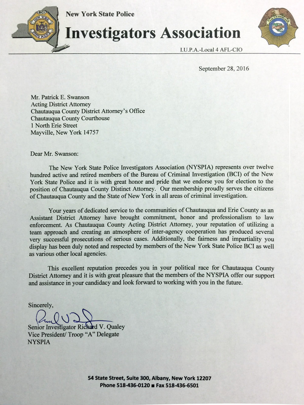 New York State Investigators Association