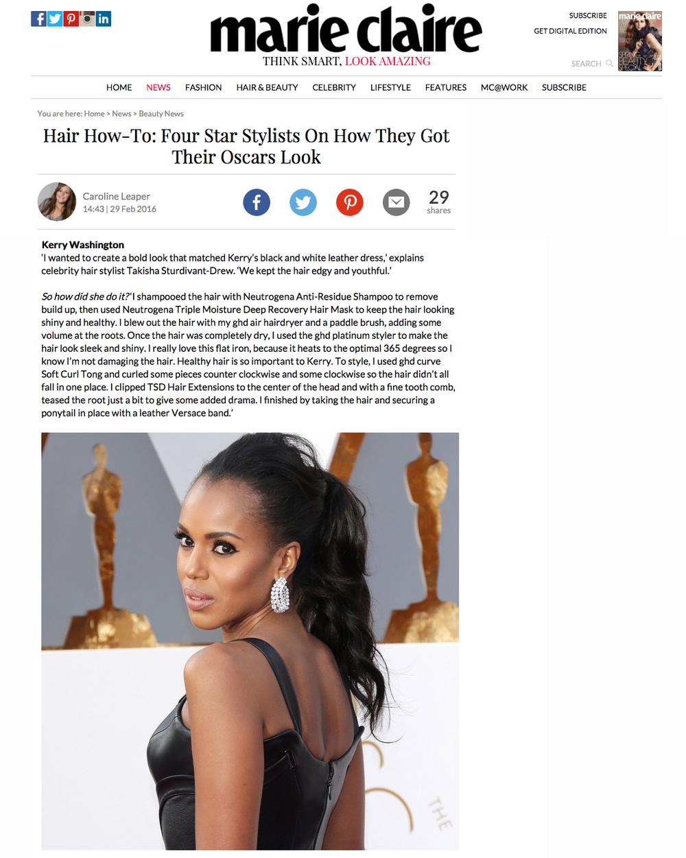 Tsd Hair Hair How To Four Star Stylists On How They Got Their