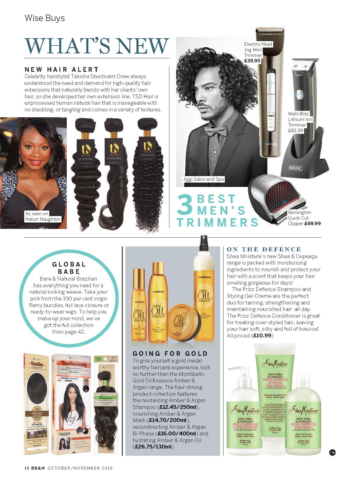3a9140f7c2 TSD HAIR — New Hair Alert   Black Beauty & Hair Magazine