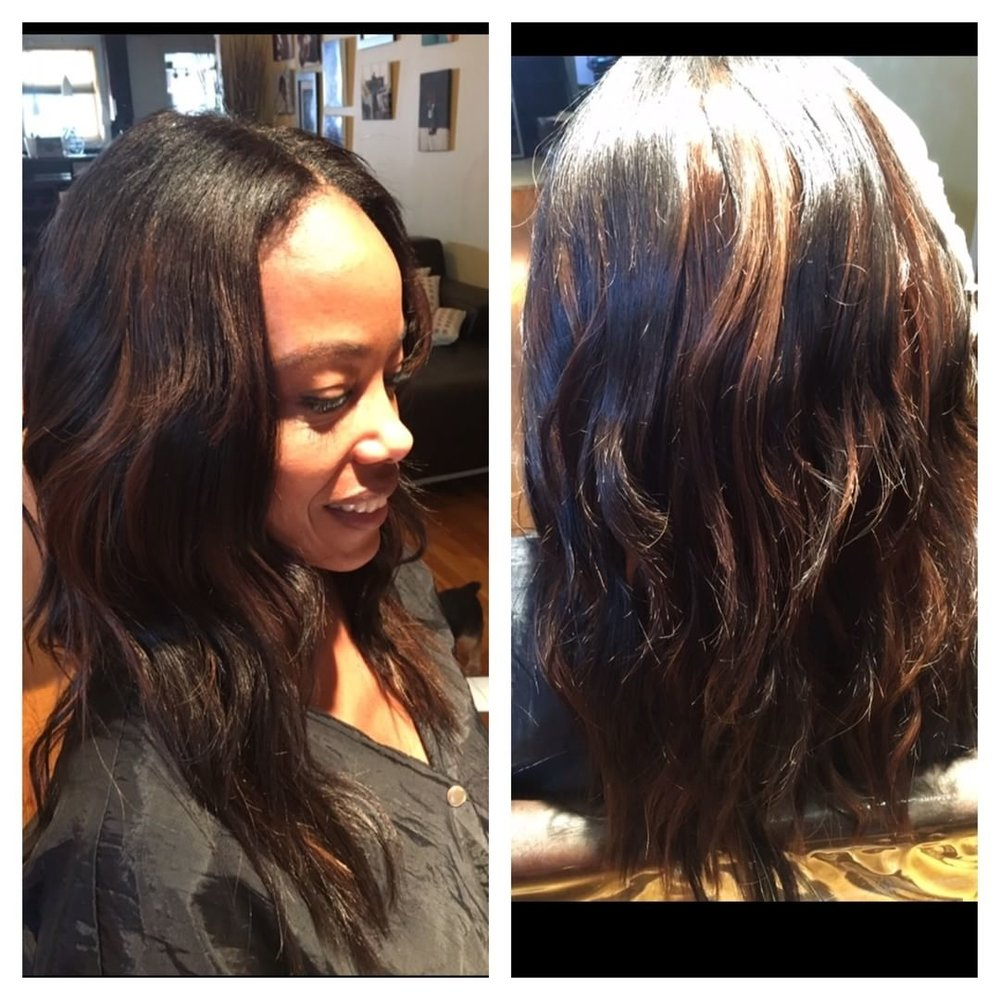 Client is wearing Body Wave.