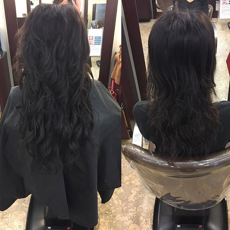 After (L) and Before (R) styled by  @joylove17 using Body Wave.