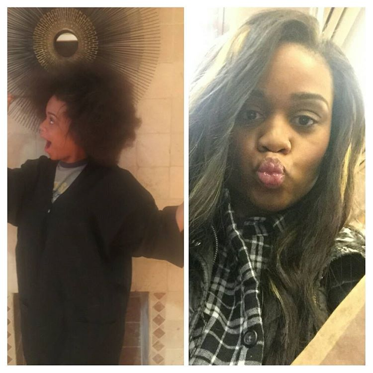 Before and After  #Tsdhairextensions Body Wave
