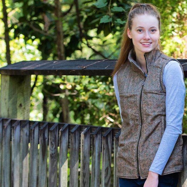 It's 🍃🍂 F A L L 🍂🍃 y'all! We could not be more excited that our favorite season has arrived ☺️ Get into the swing by shopping our Shooter's Vest, available through the link in bio ✔️ #SaintHugh