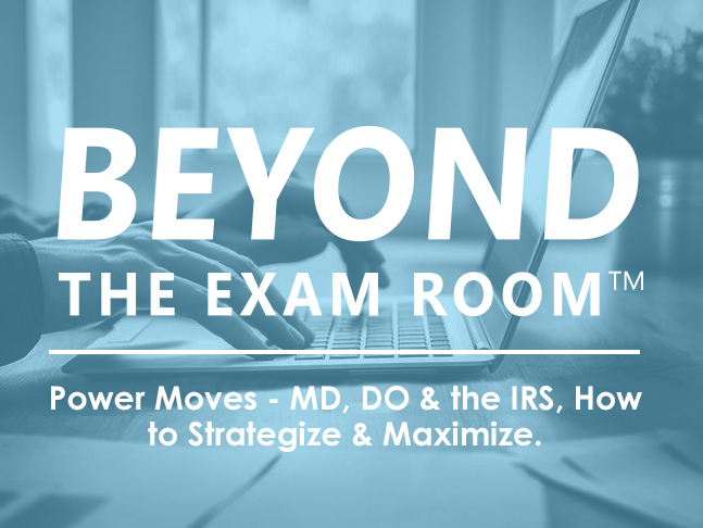 BEYOND THE EXAM ROOM'S POWER MOVES  WEBINAR SERIES