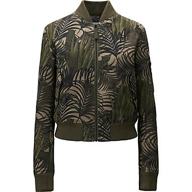 MILITARY BLOUSON IN OLIVE, 69.90. ALSO AVAILABLE IN OTHER MATERIAL AND COLORS.