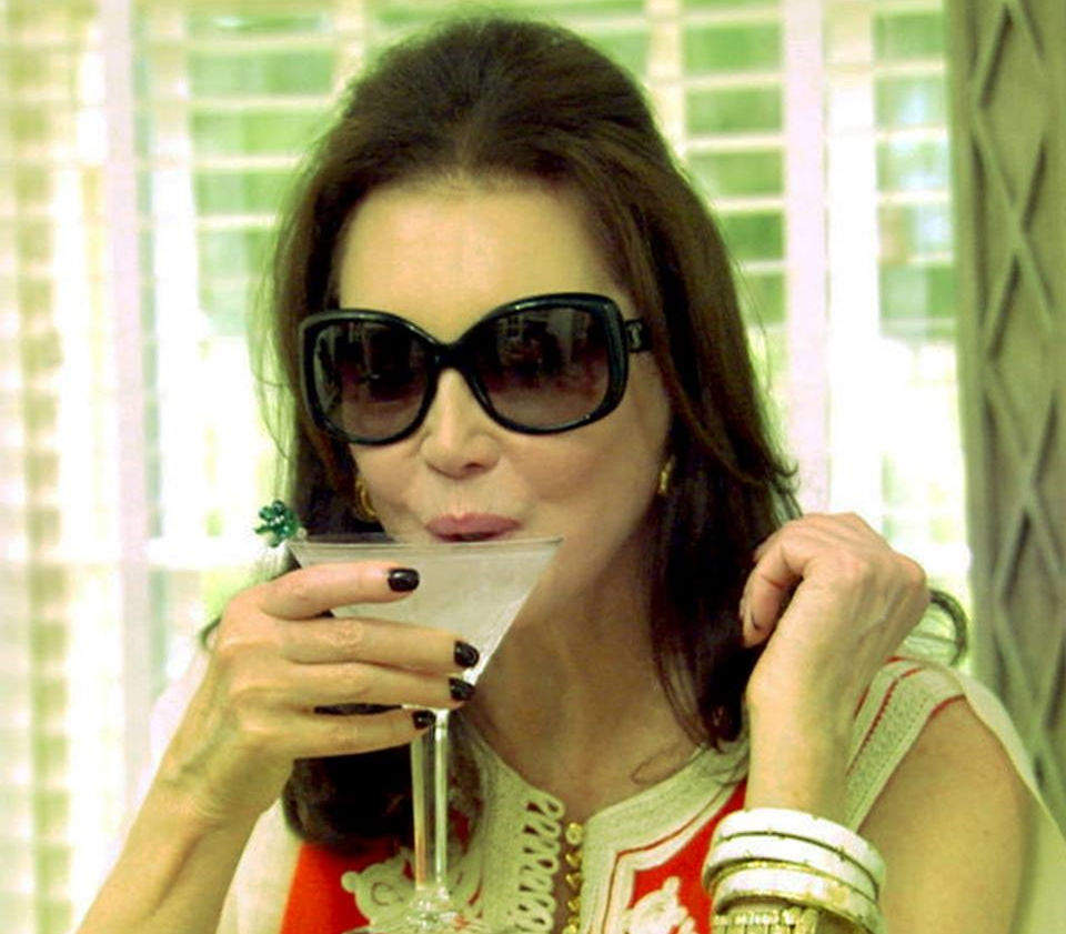 Southern Charm's Patricia Altschul enjoys her favorite beverage - a martini made by her butler.