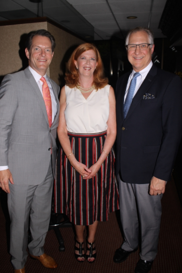 The O Report founder Olivia Fortson with Dr. Stephan Finical, left, and Dr. Kevin Smith. Photos by daniel coston.
