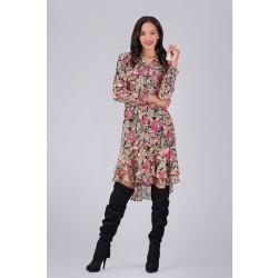 Boho Floral Dress, $495.
