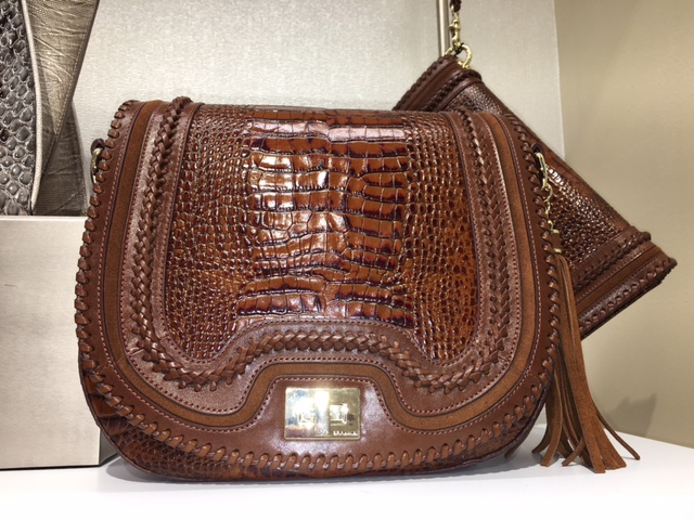 A Fall fashion must-have, the Sonny Savannah Crossbody Saddle Bag, $285.