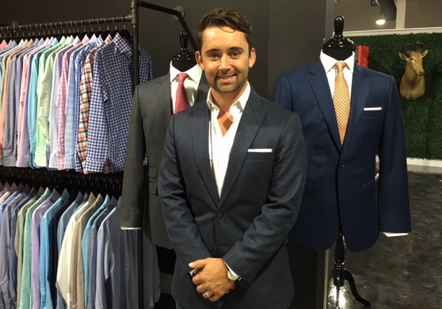 Alton Lane co-founder Colin Hunter visited Charlotte recently to launch the company's newest store. Located at 2000 South Boulevard at Atherton Mill in South end, it uses cutting edge 3D technology to offer custom men's clothing at reasonable price points.