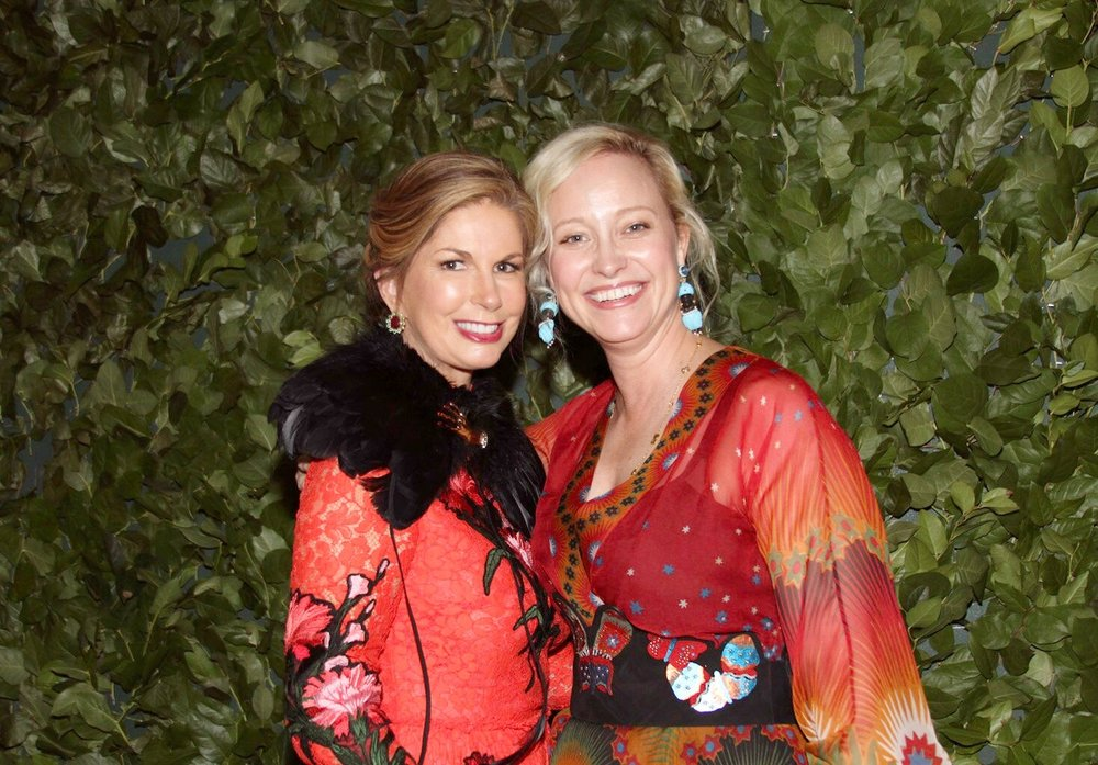 Lisa Dargan and Laura Vinroot Poole.