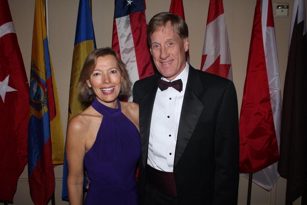 Debbie Miller and Tim Black.