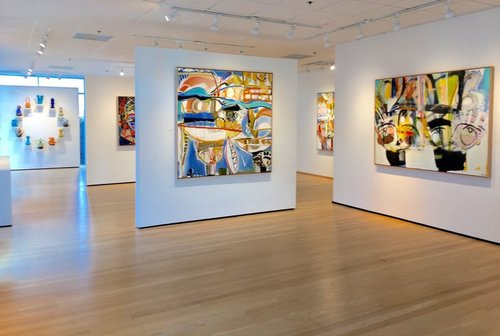 Works by Sally King Benedict and Virginia Scotchie are on exhibit at Hidell Brooks Gallery.