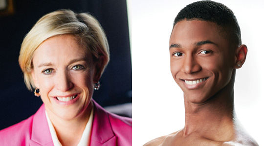 Business leader Liz Simmons and Charlotte Ballet dancer Juwan Alston are two of the competitors at the sold out Dancing With The Stars of Charlotte Gala.