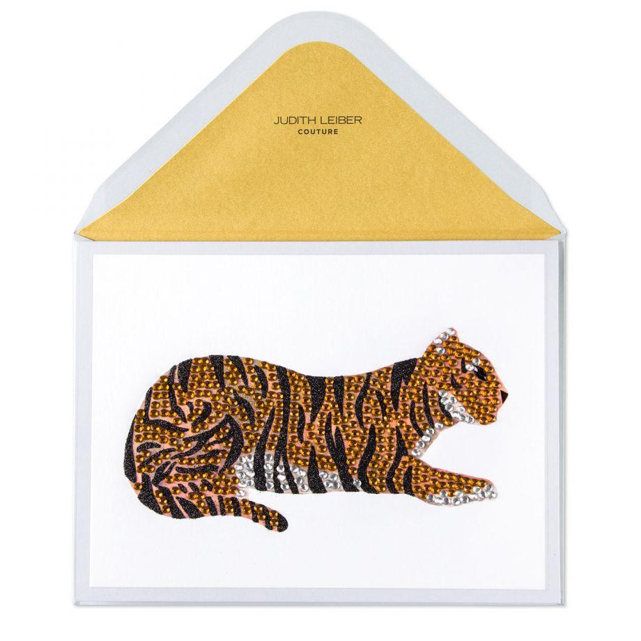 Tiger card, $12.95.