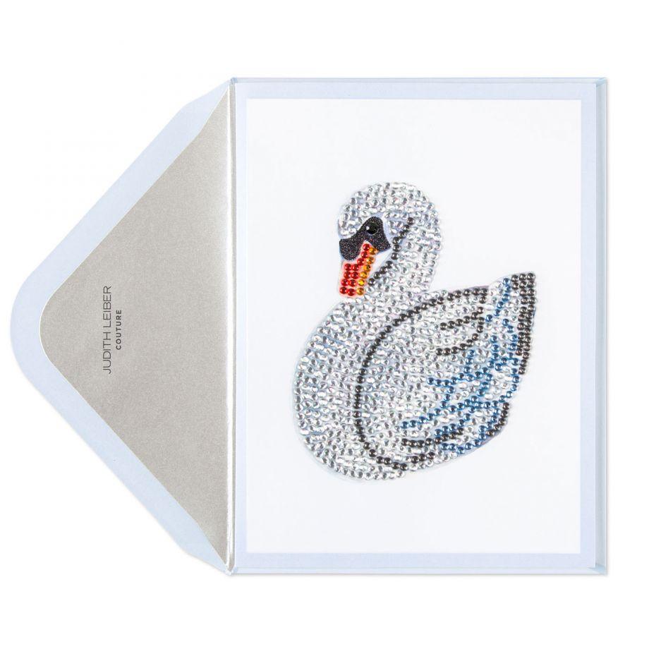 Swan card, $12.95.