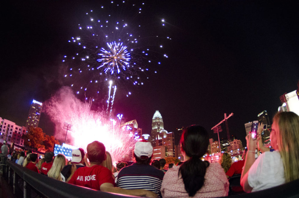 The largest fireworks display in the Southeast - and a baseball game between Team USA and Team Cuba - are part of SkyShow Charlotte on July 4.