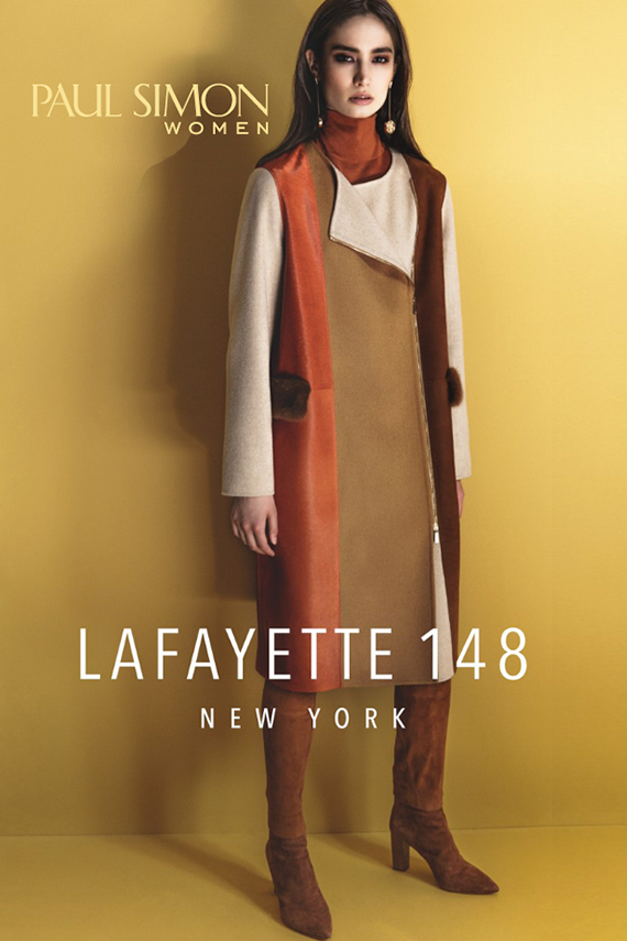 The Lafayette 148 New York trunk show is Aug. 16-19 at Paul Simon Women.