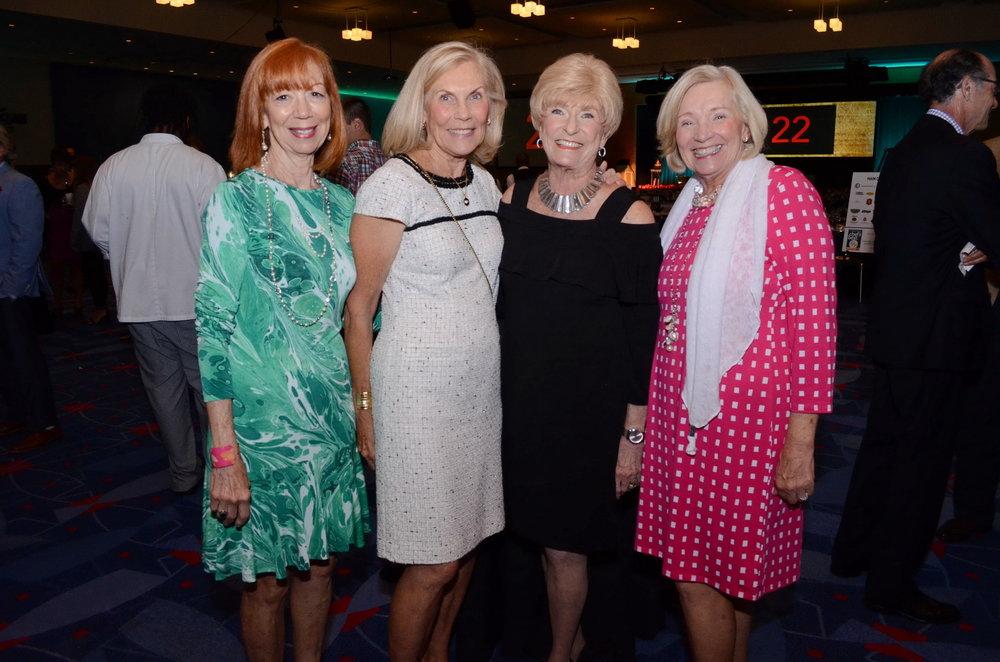 Maureen Catnese, Susie Martier, Lynn Adams and Joyce Pischel.